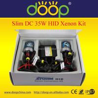 A+ Quality Slim DC 12V 35W hid xenon conversion kit 3000K- 30000K H1 H3 H4 H7 H11 H13 9005 xenon hid kit