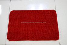 Low price most popular chenille microfiber floor rug