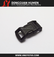 Jinyu 1/2 inch side release plastic buckle/colorful plastic backpack buckle