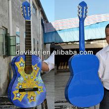 Childs 3/4 SizeClassical Nylon String Guitar Blue