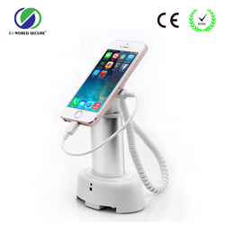 mobile phone security alarm display stand,security charging alarm,cell phone anti theft alarm holder