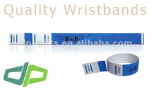 Tear-Off-3-Tab Tyvek Event Wristband