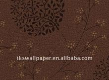 Home pvc wallpaper by own factory (Made in China) hot sales in 2012