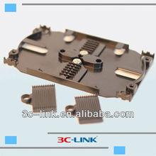 12 cores fibers splicing tray(3c-link),12&24 Ports Fiber Optic Splice Tray,Optic Fiber splice Tray/ODF