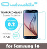 PHONE PROTECTOR factory supply!9H Tempered glass screen protector for Samsung S4 MINI 0.3mm round edge