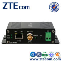 Microtype power over coax and ethernet extension EOC Converter