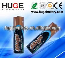 1.5v AA size Alkaline battery with aluminum foil LR6