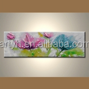 Wholesale Fashion Handmade Living Room Oil Painting for decoration