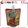 Printed food grade frozen food pouch