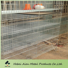 design layer chicken brolier cage,Metal H frame galvanized automatic brolier cage