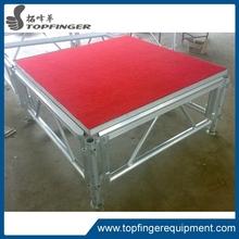 Aluminium frame wooden platform outdoor stage