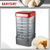 Most Popular Digital Curved Glass Food Steamer Digital Type as Professional Kitchen Equipment