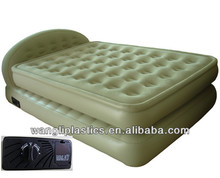 Comfortable Double Size Back-rest inflatable round Bed
