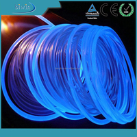Transparent PVC Optic Fiber Cable Holiday Lights