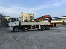160 ton at 4m, truck mounted crane, SQ3200ZB6, best knuckle boom crane 160 ton.