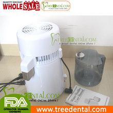 Tr-w01a 110 V 4L Dental / Medical Distiller agua pura filtro purificador de agua de acero inoxidable Dental máquina de agua destilada