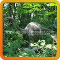 Escultura de dinosaurio jurásico parque