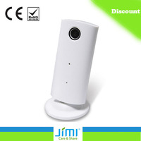 H.264 720P Mega-Pixel HD Wifi Mini hidden camera Network IP Camera Baby Monitor with Two Way Audio - White