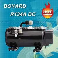 R134A BOYARD dc inverter rotary compressor refrigerator 12 volt for car roof top mini portable air conditioner