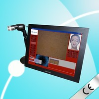 CE approved Most professional portable skin analyzer beauty salon equipment