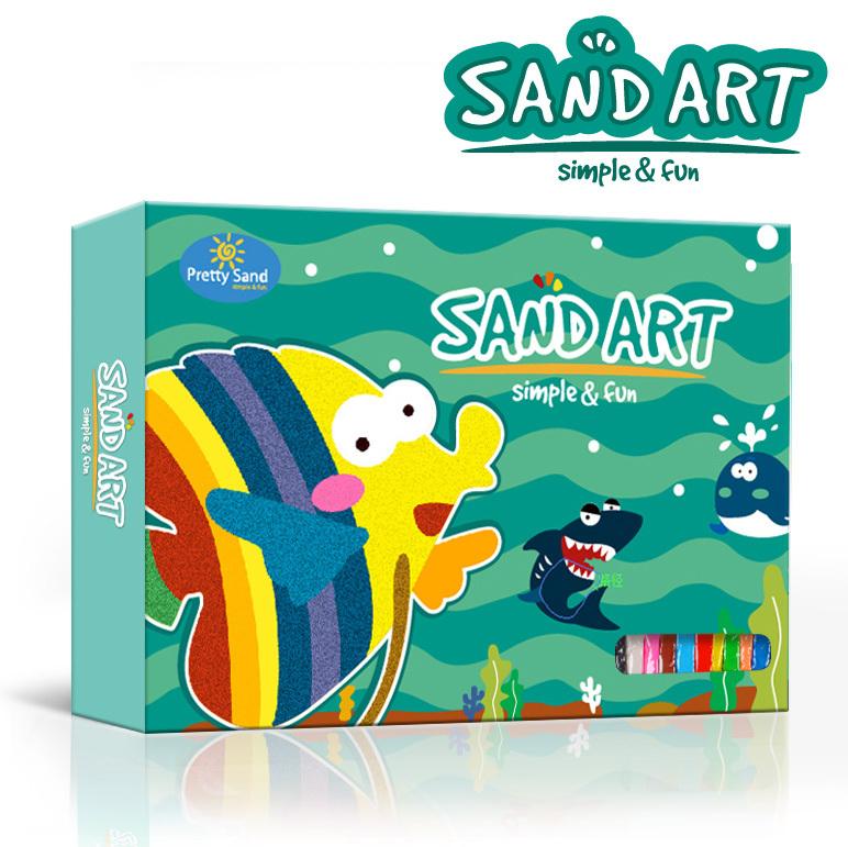 Art Educational Toys : Lovely sand art painting educational toys for kids buy