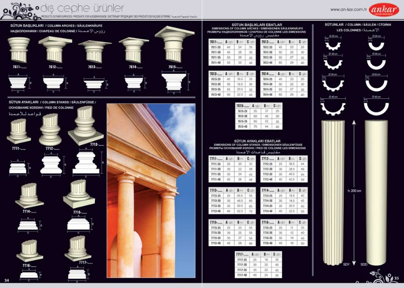 Polystyrene Columns Buy Interior And Exterior Decorative