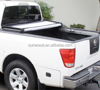 wholesale china goods pickup flat covers with roof racks for toyota hilux vigo