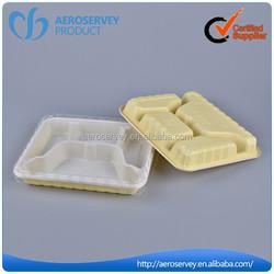 Inflight product plastic takeaway food box design