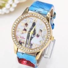 japón movt reloj de pulsera de diamantes de las señoras reloj reloj de pulsera para el regalo de boda