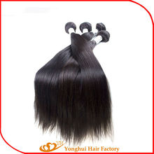 Straight Hair Weaving100% Virgin Yonghui Hair Wholesale No Sheeding No Tangle Indian Humanhair Extensions