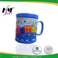 Custom Cheap 3D Cute Cartoon Soft PVC Mug