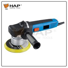 Dual action type electric professional car polisher