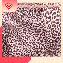 Factory Fair Price Indonesia Cotton Leopard Printed Fabric