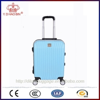 External Caster and Women style abs aluminium frame luggage set