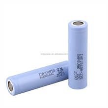 Durable battery 18650 high drain battery 3.7V 2900mah li-ion cell for samsung