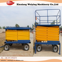 Electric scissor Hydraulic Lifting Platform/screw jack lifting platform
