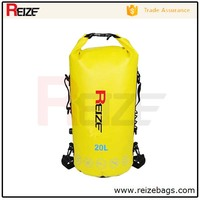 500D Tarpaulin waterproof custom logo dry bag backpack