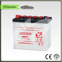 cheapest car battery ns60 12v 45ah