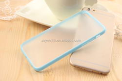 Wholesale Custom 0.3mm Ultra Thin Slim Soft Fashion silicon Clear Mobile Phone Case