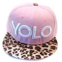 Fashion New Stylish Men/Women 3D Embroidery Customized Flat Brim Snapback Baseball Sport Hip hop Cap And Hat