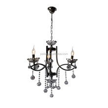 New design model decorative chain chandelier battery powered