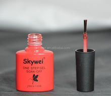 Skywei one time apply one step gel nail polish