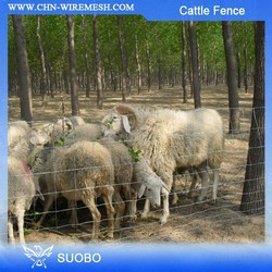 Hot Sale!!!Easily Assembled/Waterproof Feature and Nature Pressure Treated Wood Type Sheep Netting Fence(Manufacturer)