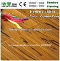 paisagem de teca dourada pintura vertente revestimento de bambu tecido