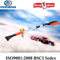 Heavy-duty Telescopic Snow Brush with Ice Scraper for Car