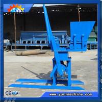 Yuxi Clay Brick Production Line Processing / fly ash brick making machine
