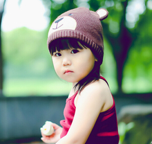 S10437A all kinds of custom children knitted beanie hat/kids funny beanie hat