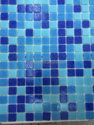 china suppliers swimming pool tiles glass mosaic