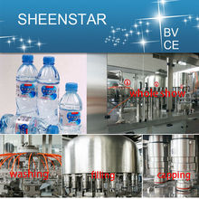 Fully automatic mineral water filling
