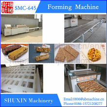 Healthy snack peanut candy bar making machine,rice cake forming machine,cereal cake machine